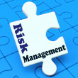 Stock Photo: Risk Management Means Analyze Evaluate Avoid Crisis