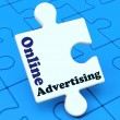 Online Advertising Shows Website Promotions Adverts - Stock Photo