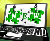 Nuovo portatile spettacoli recenti acquisiti — Foto Stock