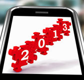 2013 On Smartphone Showing Future Visions — Stock Photo
