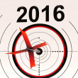 2016 Calendar Means Planning Annual Agenda Schedule — Foto de Stock