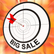 Stock Photo: Big Sale Shows Discount And Cheap Pricing