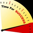 Time For Success Message Representing Victory And Winning - Stock Photo
