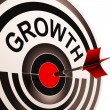 Growth Shows Maturity, Growth And Improvement — Stock Photo #21852835