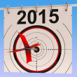 Stock Photo: 2015 Calendar Means Planning Annual AgendSchedule