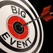 Big Event Target Shows Celebrations And Parties — Stock Photo #22262877