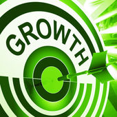 Growth Means Maturity, Growth And Improvement — Stock Photo
