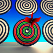 Target Winner Shows Skill, Performance And Accuracy - Stock Photo
