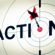 Stock Photo: Action Shows Active Motivation Or Proactive