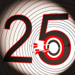 25 Target Shows 25th Anniversary — Stock Photo