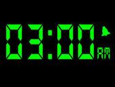 Early Morning Alarm Call At Three AM — Stock Photo
