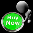 Buy Now Button Shows Purchasing And Online Shopping — Stock Photo #27611131