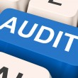 Stock Photo: Audit Key Means Validation Or Inspectio