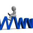 Www Showing World Wide Web — 图库照片 #32847701