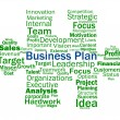 Business Plan Shows Aims Strategy Plans Or Planning — Stock Photo