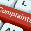 Stock Photo: Complaints Key Shows Complaining Or Moaning Online