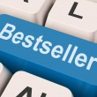 Bestseller Key Shows Best Seller Or Rated — Стоковая фотография