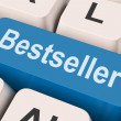 Bestseller Key Shows Best Seller Or Rated — Stockfoto