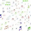 Musical Notes Shows Music Audio Sound Or Entertainment — Stock Photo #32848769