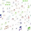 Stock Photo: Musical Notes Shows Music Audio Sound Or Entertainment