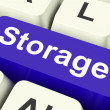 Storage Key Means storage Unit Or Storeroo — Stock Photo