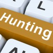 Stock Photo: Hunting Key Means Exploration Or Searchin