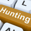 Hunting Key Means Exploration Or Searchin — Stock Photo