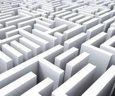 Maze Shows Challenge Or Complexity — Stock Photo