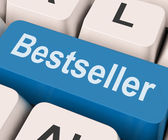 Bestseller Key Shows Best Seller Or Rated — Stock Photo