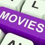 Постер, плакат: Movies Key Means Films Or Movi