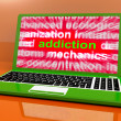 Stock Photo: Addiction Laptop Means Obsession Craving And Attachment Onlin