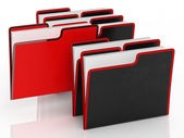 Files Meaning Organising And Paperwork — Stock Photo