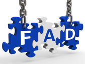 Fad Puzzle Shows Latest Thing Or Craze — Stock Photo
