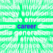 Career Word Means Job Profession Or Occupation — 图库照片 #40859223