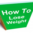 Stock Photo: How to Lose Weight on Notebook Shows Strategy for Weight loss