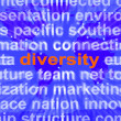 Diversity Word Cloud Shows Multicultural Diverse Culture — Stock Photo #40863701