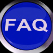 FAQ Button Shows Frequently Asked Question — Foto de stock #40864581
