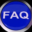 FAQ Button Shows Frequently Asked Question — стоковое фото #40864581