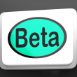 Stock Photo: BetButton Shows Development Or Demo Version