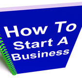 How to Start a Business Shows Starting Strategy — Photo