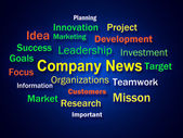 Company News Brainstorm Shows Whats New In Business — Stock Photo