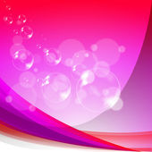 Bubbles Background Means Soapy Sparkles And Joyfulness — Stock Photo