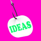 Ideas On Hook Means Creative Thoughts And Concepts — Stock Photo