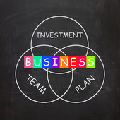 Business Requirements are Investments Plans and Teamwork — Stock Photo