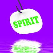 Spirit On Hook Displays Spiritual Body Or Purity — Stock Photo