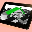 Постер, плакат: Home Sweet Home House Tablet Cozy And Familiar