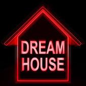сон дом дома средства идеально подходит для семьи — Стоковое фото