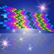 Squares Pattern Represents Star Blocks And Decorative — Stock Photo #48828047