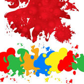 Paint Color Indicates Blots Splashes And Blob — Stock Photo