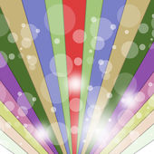 Rays Color Indicates Multicolored Beam And Vibrant — Stock Photo
